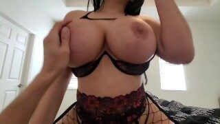 Lonely Stepson Fucks His Thick Sexy Stepmom On Valentines Day